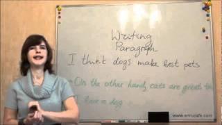 Письмо (ВНО, английский): Параграфы 2, видео урок