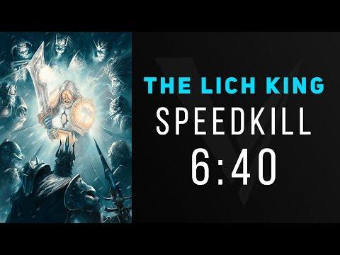 Invisus Vs The Lich King 25 HC - Warmane Rank 1 Speedkill (6:40)