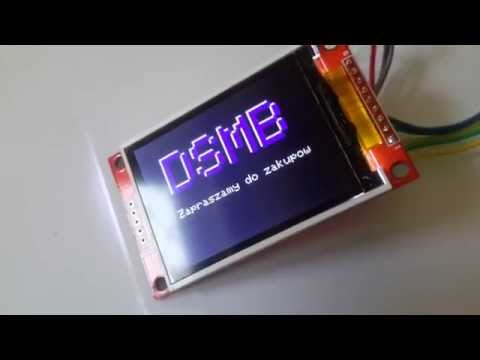 Repeat LCD 320x240 driver ili9341 spi 10Mhz on STM32 draw