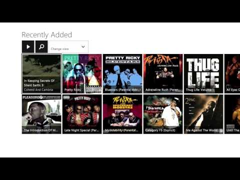 Xbox One Tips & Tricks  Xbox Music Pass Music Service Kinda Like iTunes But Better?? Review