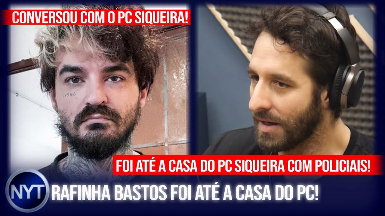 Rafinha Bastos revela conversa inédita que teve com PC Siqueira e diz TUDO que sabe sobre o caso