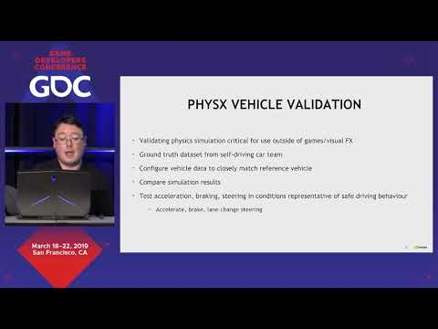 Using PhysX For Vehicle Simulations