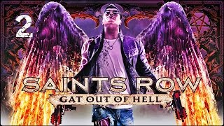 Прохождение Saints Row: Gat out of Hell (XBOX360) — Часть 2: Близняшки
