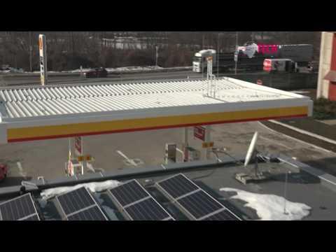 Slovenský komplexný systém využitia obnoviteľnej energie sa udomácnil aj na čerpacej stanici