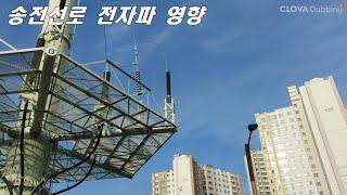 [질의회신]송전선로 전자파 영향
