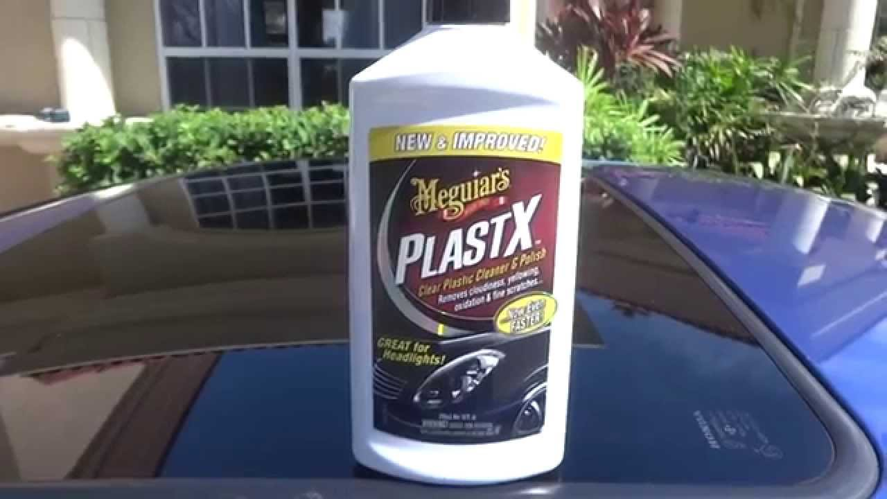 Meguiars PlastX Review And Test Results On My 2001 Honda