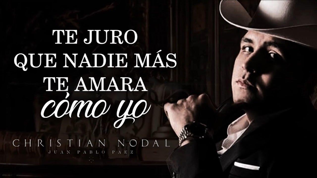 Letra Mi Eterno Amor Secreto Christian Nodal Lyric Video