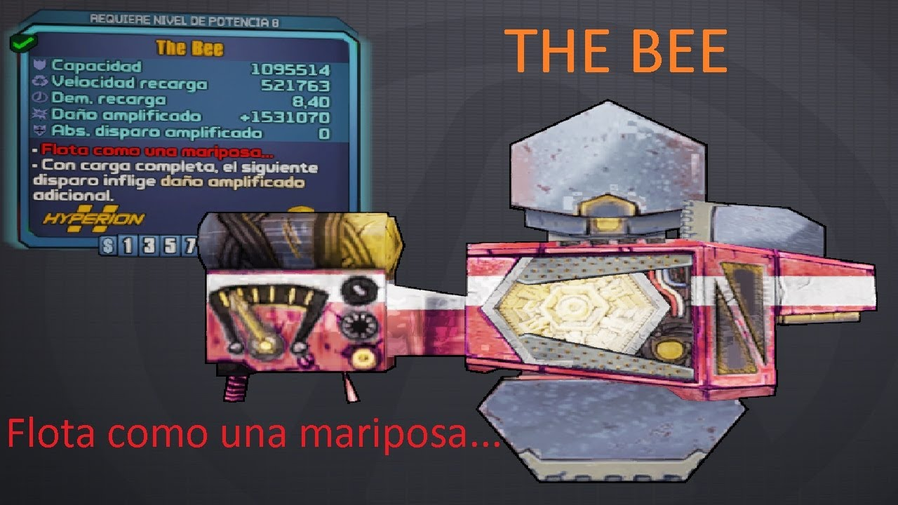 Borderlands 2 Guide legendary weapons shield the bee `` Float like a  butterfly    ''