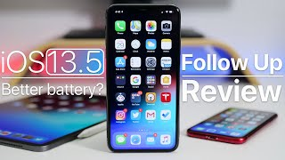 iOS 13.5 - Weekly Follow Up Review - Better Battery?