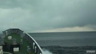 福島県沖・大津波に遭遇した巡視船 【海上保安庁提供映像】