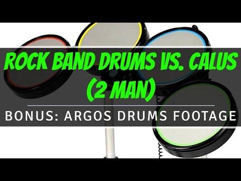 Rock Band Drums Vs. Calus (2 Man) - BONUS: Argos Drums Footage