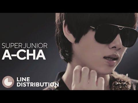 SUPER JUNIOR - A-Cha (Line Distribution)