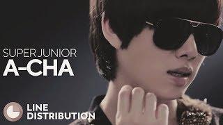 SUPER JUNIOR A Cha Line Distribution