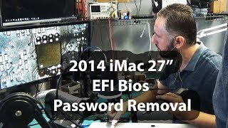 "iMac 27"" late 2014 Unlock EFI Bios Password removal - A1419 Firmware rom chip replacement"