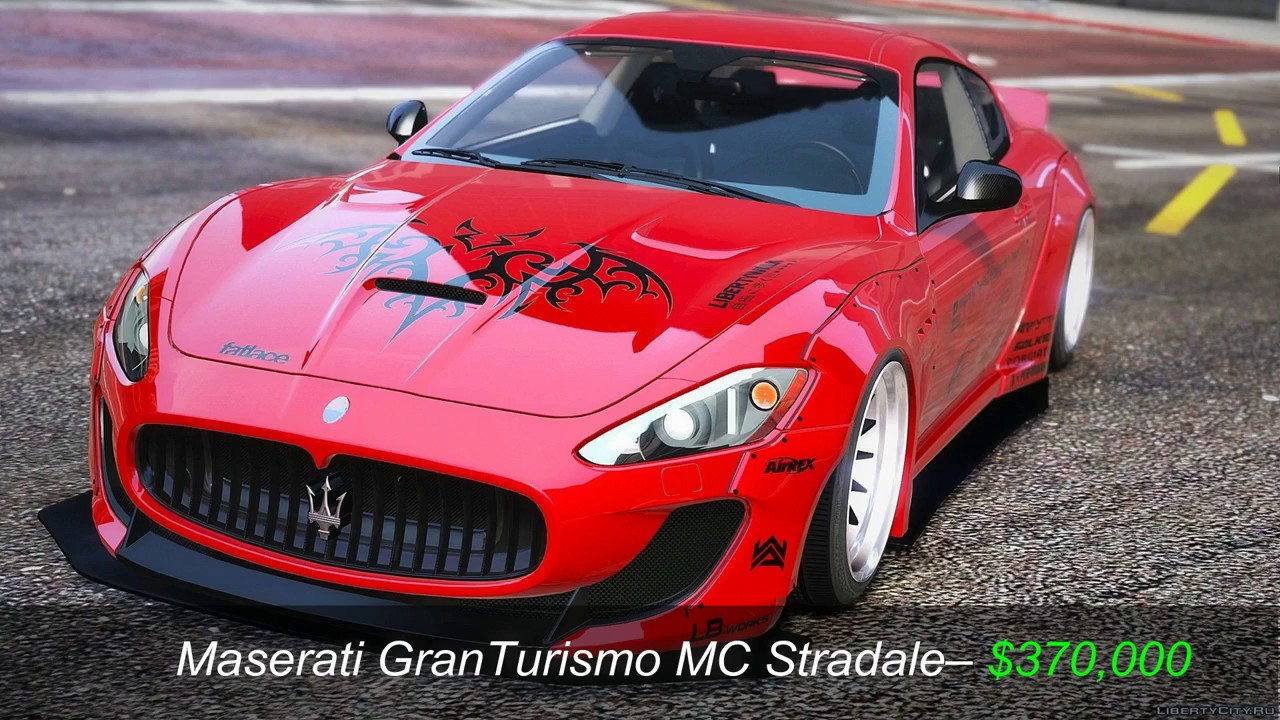 Most Expensive Maserati >> Top 10 Most Expensive Maserati Cars