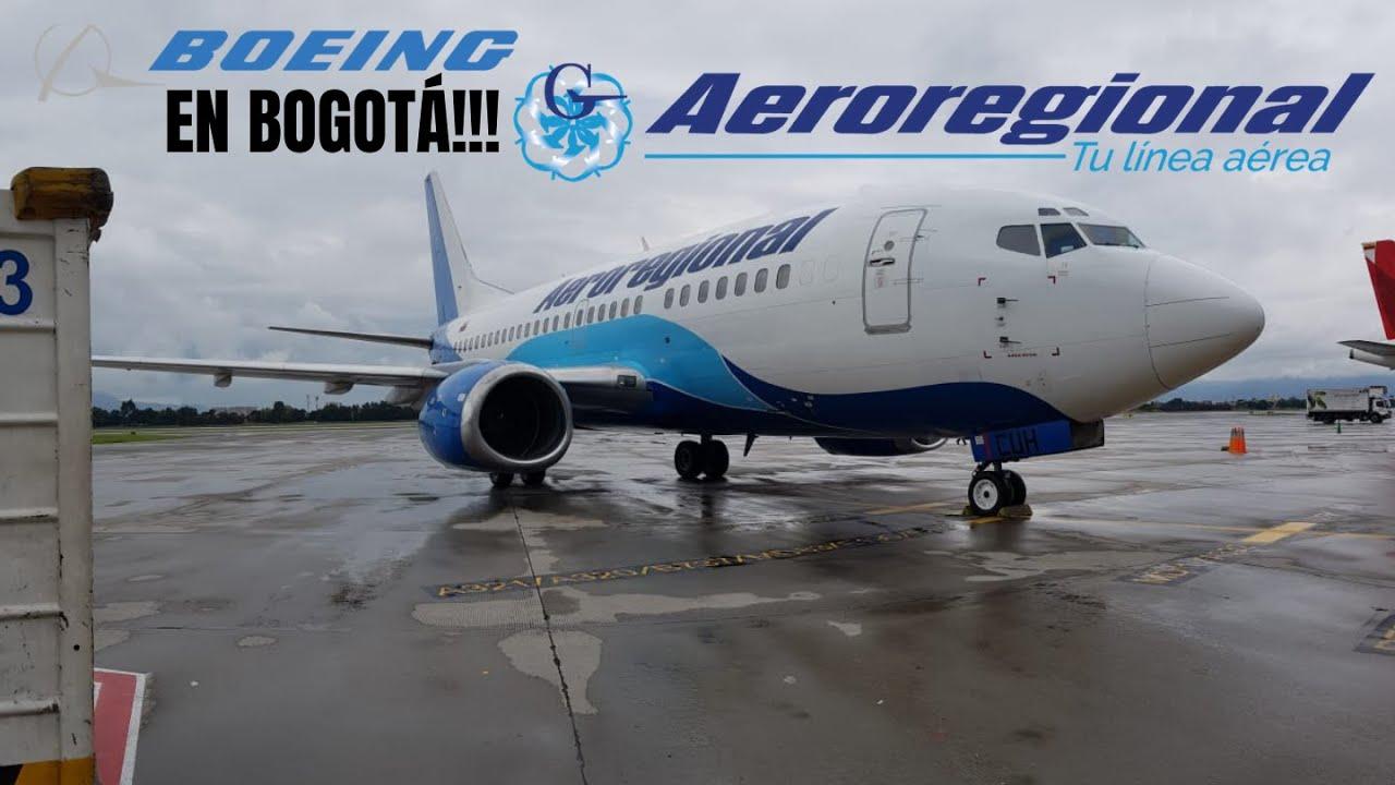 AEROREGIONAL TU LINEA AEREA EN BOGOTÁ!!! | BOEING 737-500 EN ELDORADO
