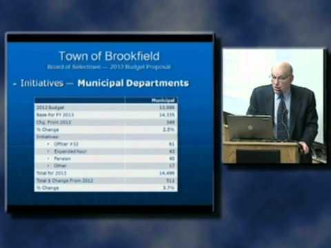 Brookfield BOS meeting 3/5/2012