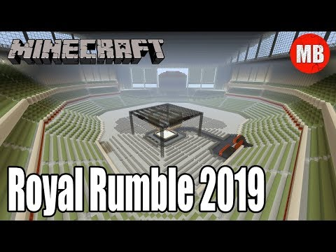 WWE Minecraft Arena | Royal Rumble 2019