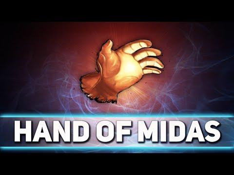 видео: Вся сущность hand of midas в доте