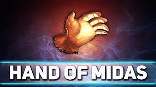 Вся сущность Hand of Midas в доте