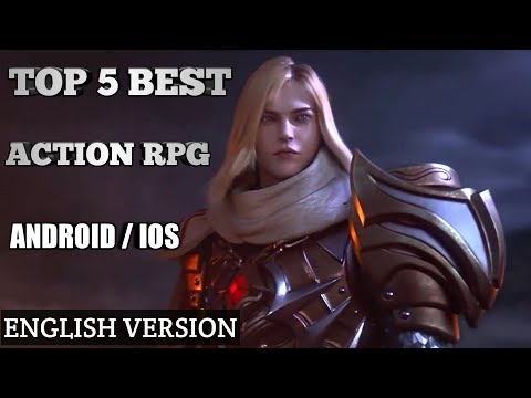 TOP 5 BEST ACTION RPG (ANDROID / IOS) (DOWNLOAD LINK IN DISCRETION)