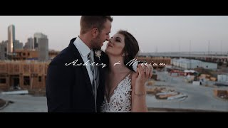 Poppin' Champ and rooftop views   BRIK Venue Wedding Fort Worth, Texas   Fort Worth Wedding Video