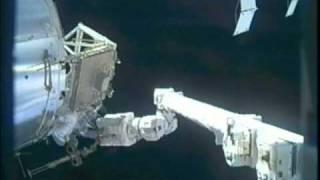 STS-133: EVA-2 (time lapse)