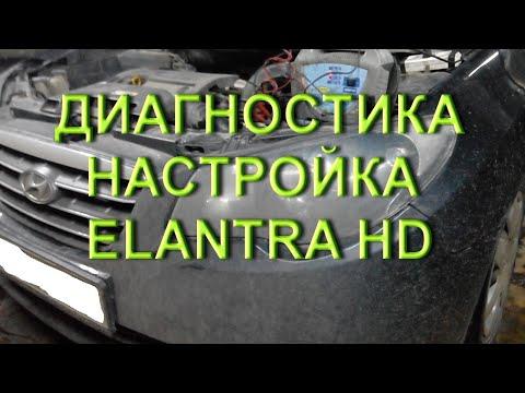 Elantra HD J4 Секреты диагностики