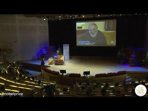 Arthur Ashkin: Nobel Lecture in Physics 2018