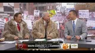Joe Namath predictions on College Gameday 11/29/14