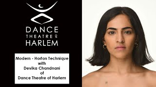 Modern - Horton Technique with Devika Chandnani of Dance Theatre of Harlem