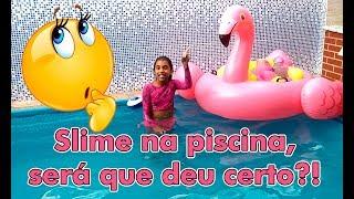 Baixar #diyslime #slimenapiscina BALÕES COM SLIMES MISTURADOS NA PISCINA / SERÁ QUE DEU CERTO ?!