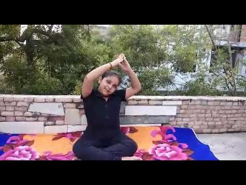 parvatasana /mountain pose/yoga for cervical spondylosis