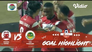 Madura United (1) vs Tira Persikabo (0) - Goal Highlights | Shopee Liga 1