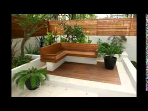 Decking ideas for small gardens youtube for Small garden design ideas decking