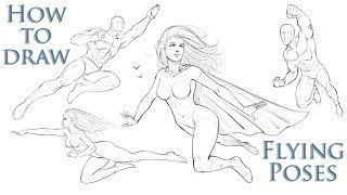 Download How To Draw Action Poses Comic Book Superheroes