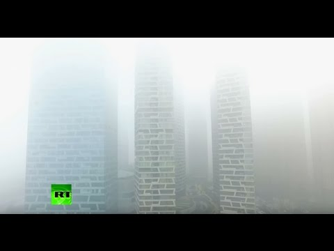 Heavy fog shrouds north and east China cities, red alert issued