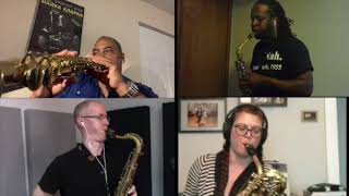 "Indy Saxophone Quartet - ""Come Sunday"" by Duke Ellington"