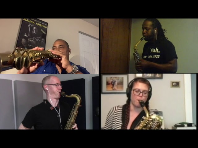 Indy Saxophone Quartet - Video