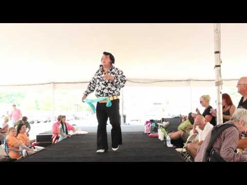 Harold Witham sings 'The Wonder Of You' Elvis Week 2015