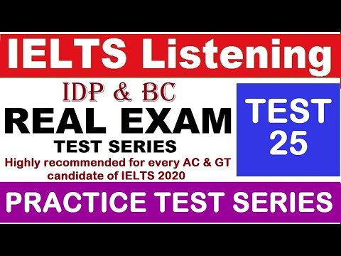 IELTS Listening 25 - (2020 Latest) Job Enquiry Band 9