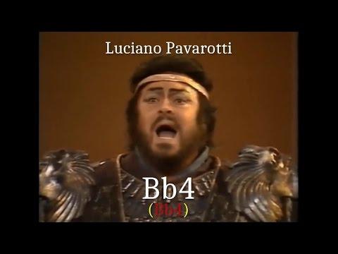 Opera Singers -  The Tenor B-flat (Bb4) - High Notes Battle