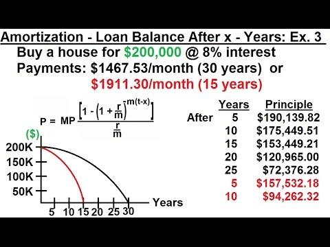 business-math---finance-math-(25-of-30)-amortization---loan-balance-after-x---years:-ex.-3