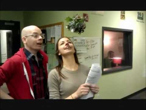 Awkward Office Misletoe Moments Ft. Jeffrey The Movie Nerd