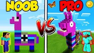 Minecraft - NOOB vs. PRO - FORTNITE in REAL LIFE!