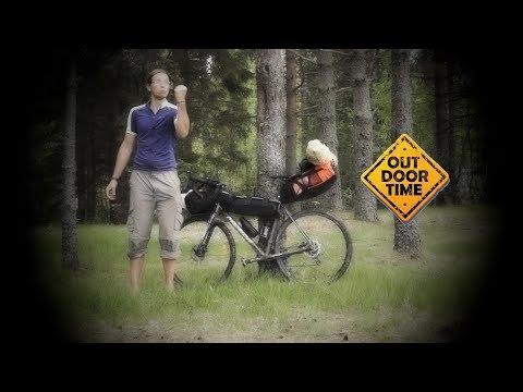 Как перевозить груз в велопоходе? Типы развесовки