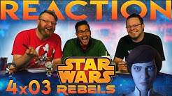 """Star Wars Rebels 4x3 REACTION!! """"In the Name of the Rebellion Part 1"""""""