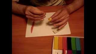Лепка из пластилина (урок 1 - Колобок)