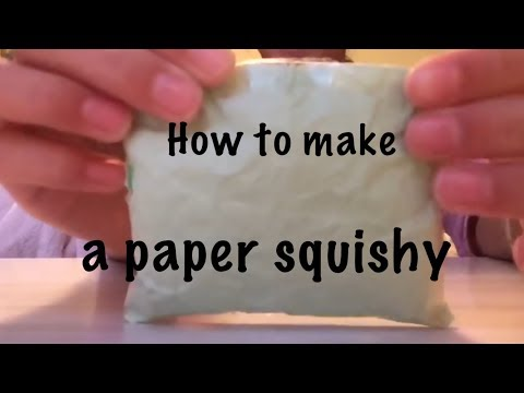 How to make a paper squishy!!!!!!
