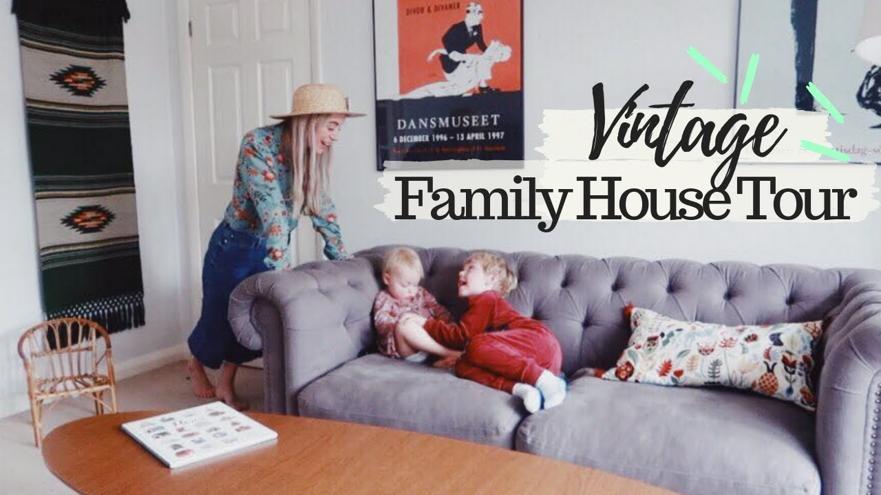 House Tour : Vintage Family Home   SJ STRUM